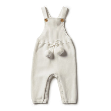ECRU KNITTED OVERALL - Wilson and Frenchy