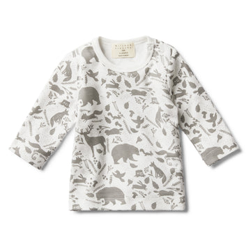 WILD WOODS LONG SLEEVE TOP-LONG SLEEVE TOP-Wilson and Frenchy