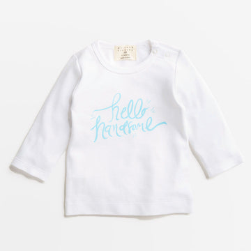 HELLO HANDSOME TOP-LONG SLEEVE TOP-Wilson and Frenchy