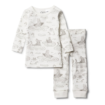 LITTLE ROW BOAT PYJAMA SET - Wilson and Frenchy
