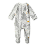 Organic Little Wander Zipsuit - Wilson and Frenchy