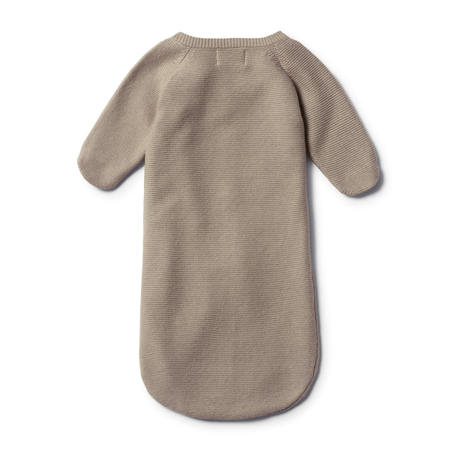 BIRCH KNITTED COCOON SLEEPER - Wilson and Frenchy