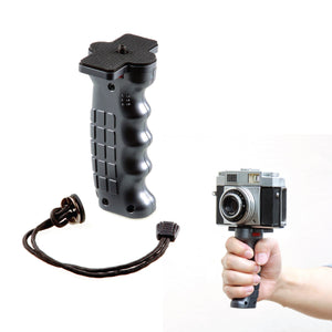 "Pistol Grip Handle with Standard 1/4"" Screw for DSLR Mirrorless Camera, Video Stabilizer Handle"