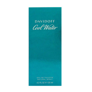 Cool Water by Zino Davidoff  Eau De Toilette Spray 4.2 Oz/ 125 Ml for Men By 4.2 Fl Oz