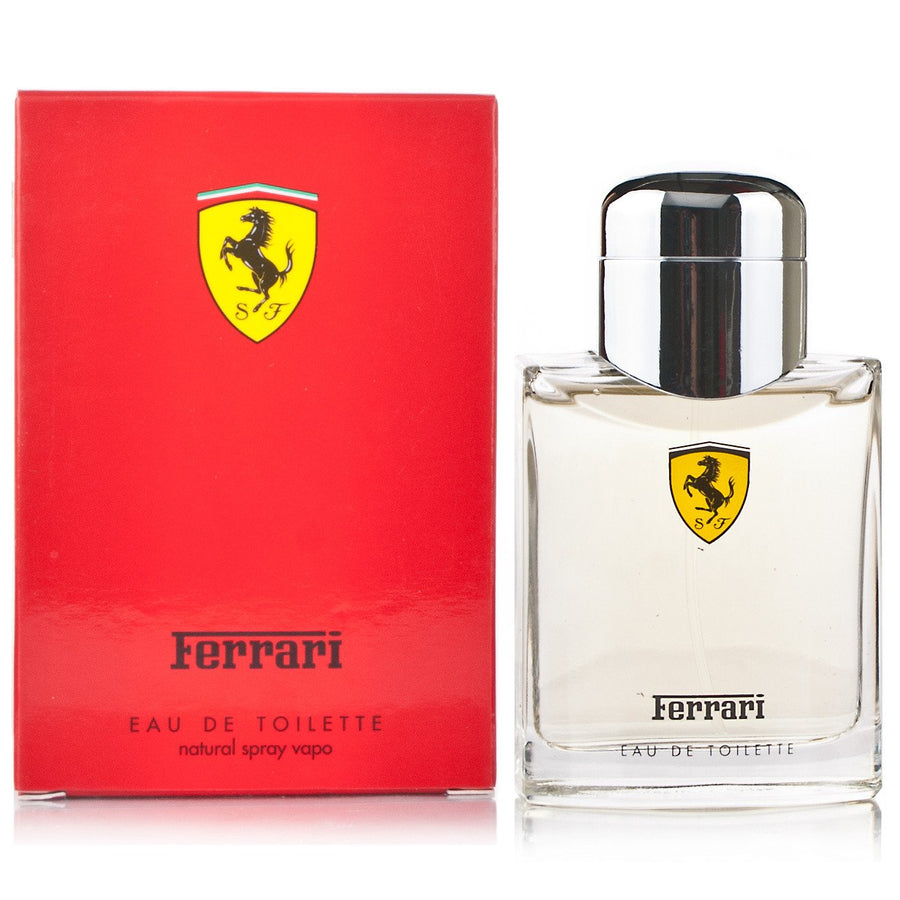 Ferrari Red Eau De Toilette Spray for Men, 125ml