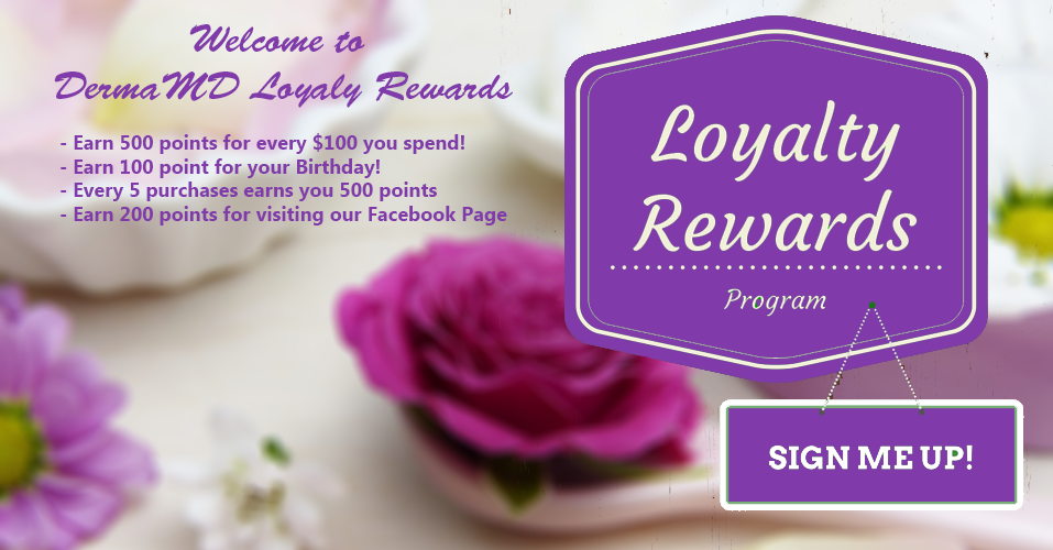 Welcome to the Derma MD Loyalty Rewards