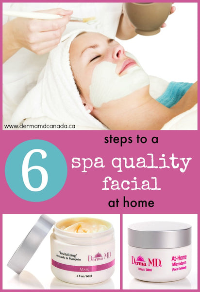 Do it yourself facial products