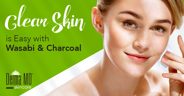 Clear Skin is Easy with Wasabi & Charcoal | Derma MD Canada