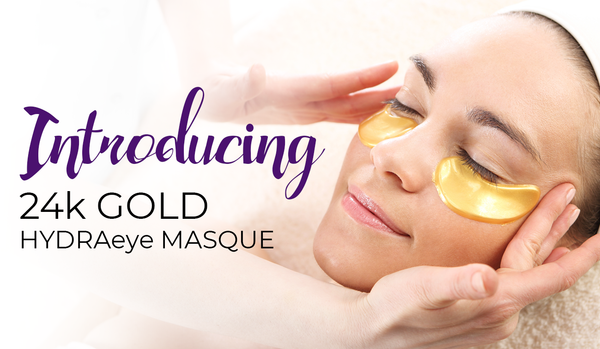 Introducing Derma MD 24k Gold HYDRAeye Masque