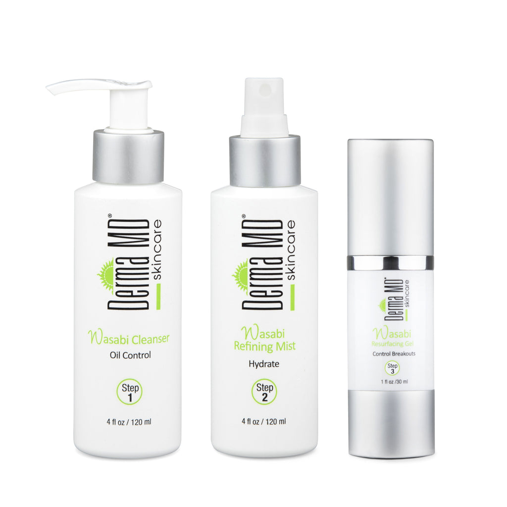 Wasabi 3 Step Anti Acne System