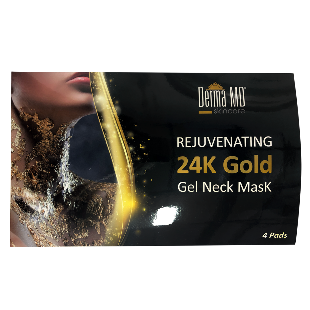 24K Gold Rejuvenating Gel Neck Masque