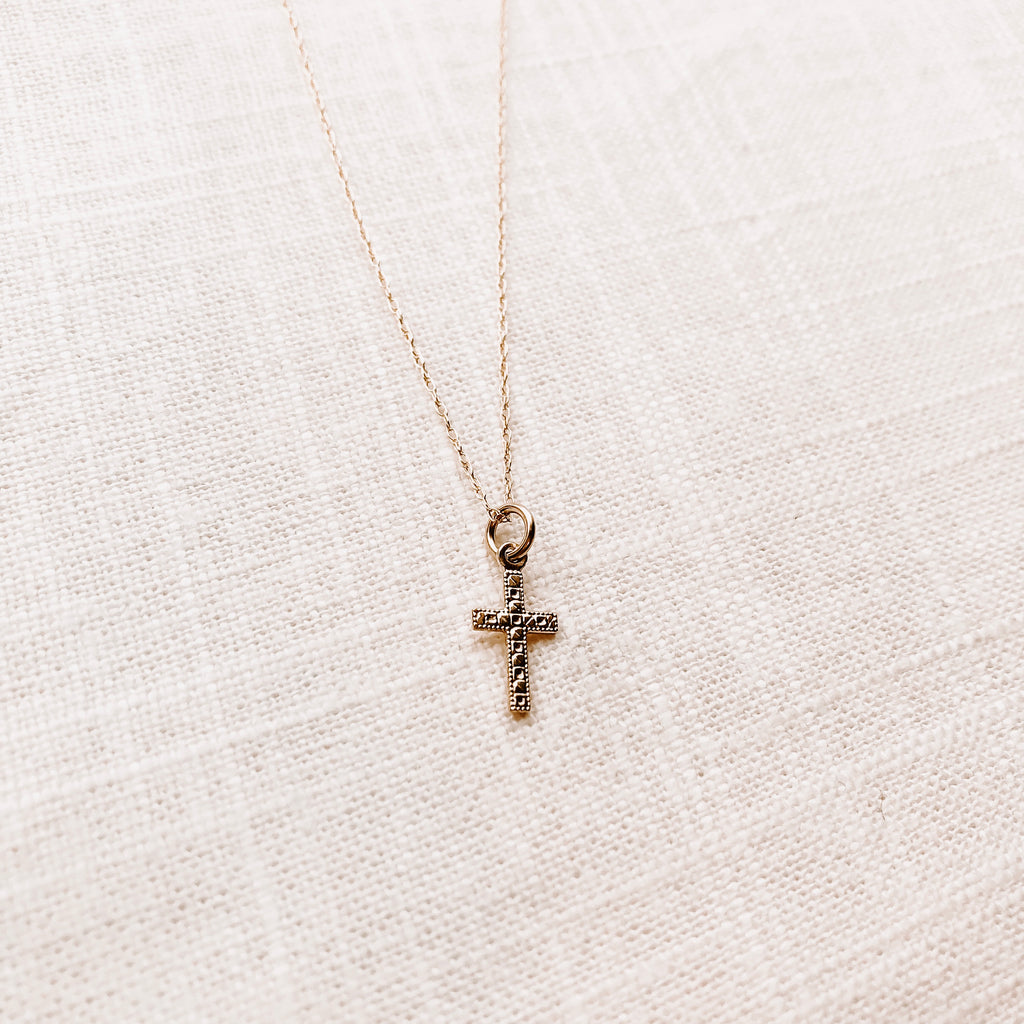 CONFIRMATION CROSS NECKLACE
