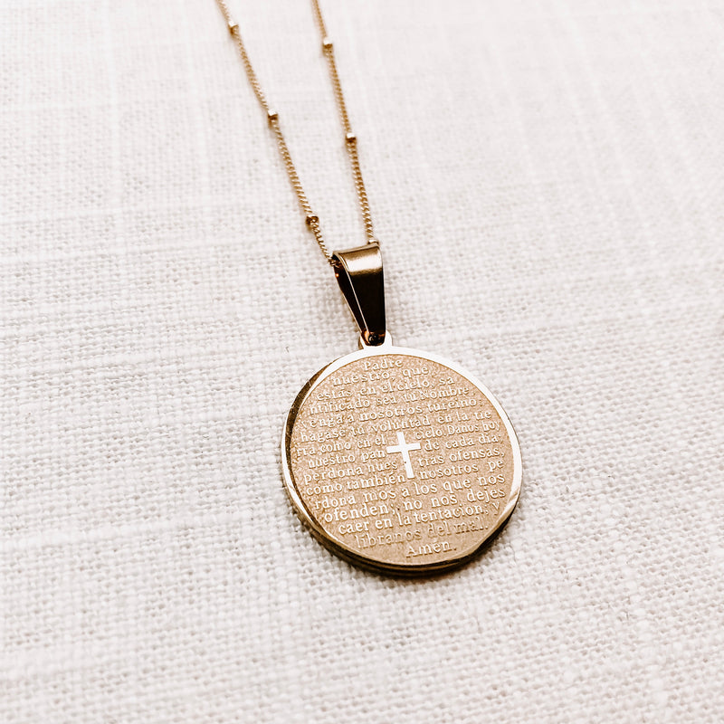 LORDS PRAYER NECKLACE