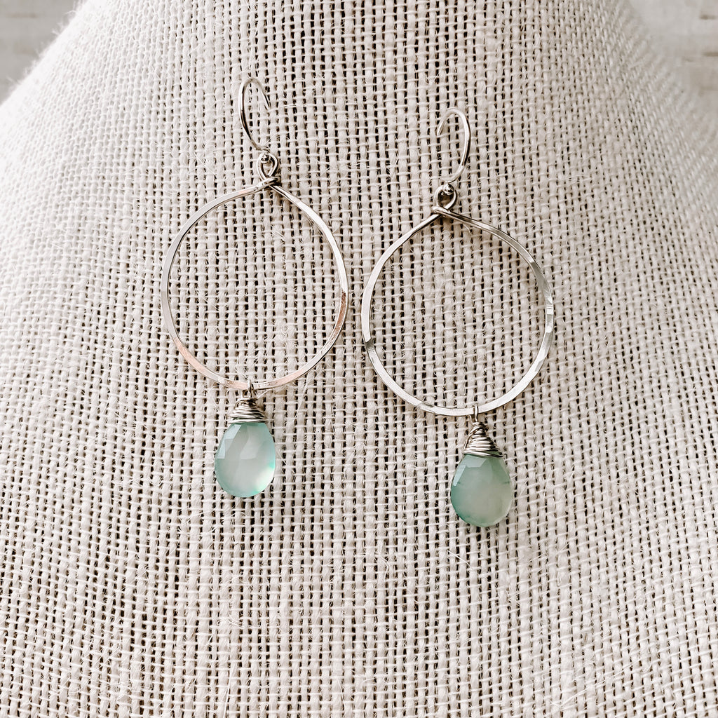CRATER LAKE EARRINGS