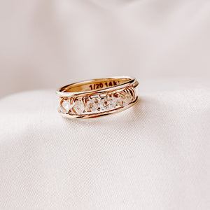 HERKIMER STACKING RING