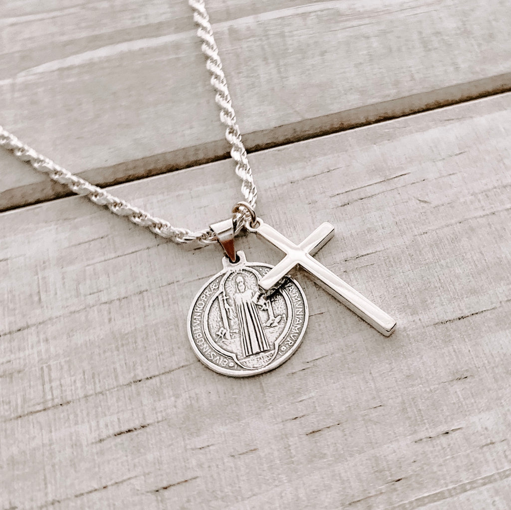MENS SPIRITUAL NECKLACE