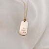 PICCOLO DOG TAG NECKLACE
