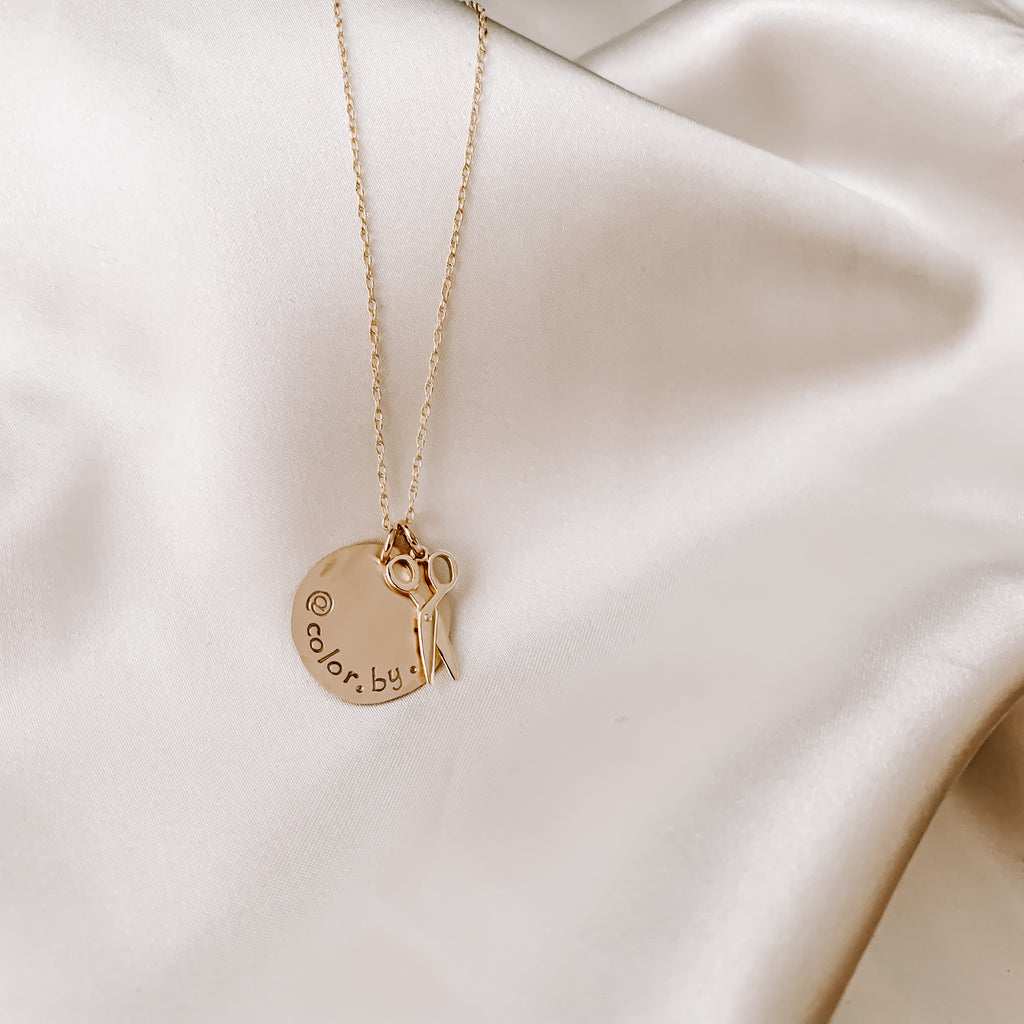 AWBREY COIN NECKLACE