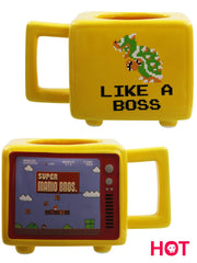 Super Mario Bros Like A Boss Heat Changing Mug