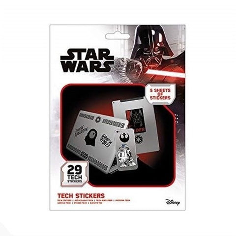 Star Wars The Force Tech Sticker