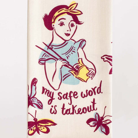 Dish Towel (Safe Word Is Takeout)