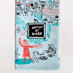 Dish Towel (Artist At Work)