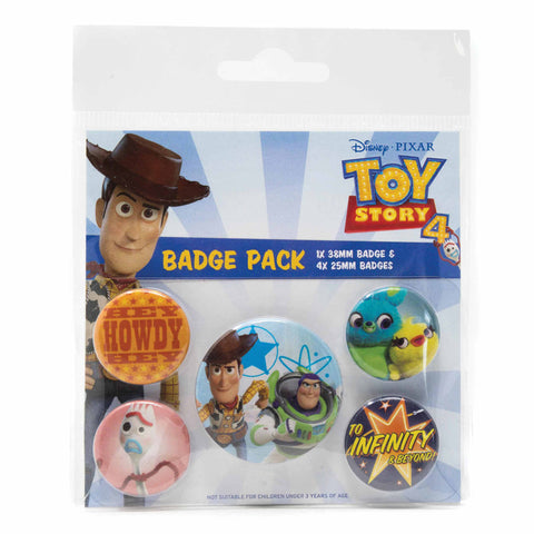Toy Story 4 Friends for Life Badge Pack