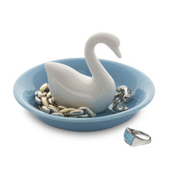 Ring Holder Swan Lake