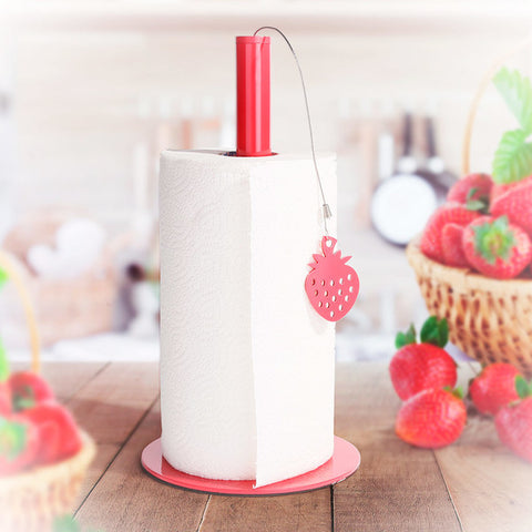 Kitchen Paper Holder Strawberry