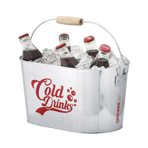 Cold Drinks Metal Cooler