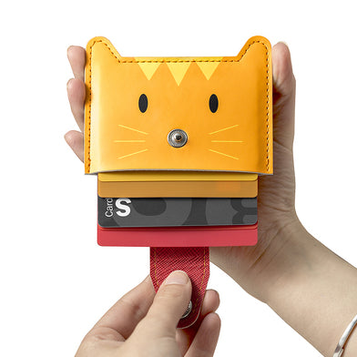 Credit Card Holder Zoo (Orange)