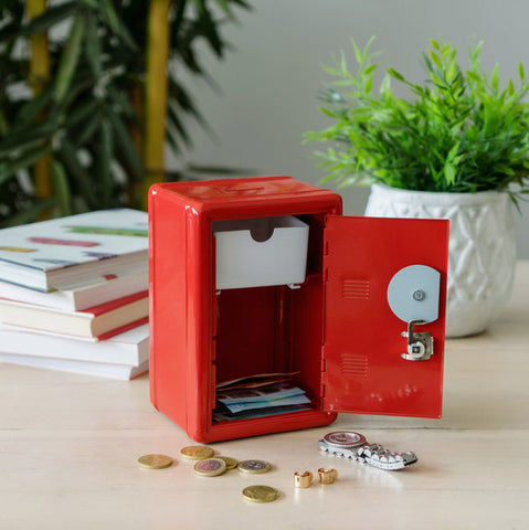 Coin Bank Money Bank Double Lock