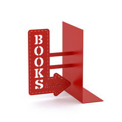 Bookend Bookshop Red