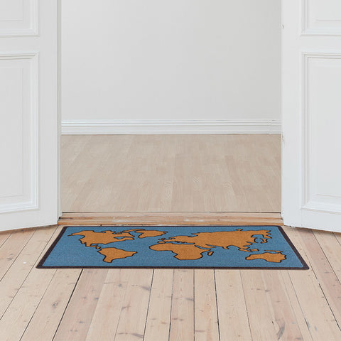 Doormat Worldmap