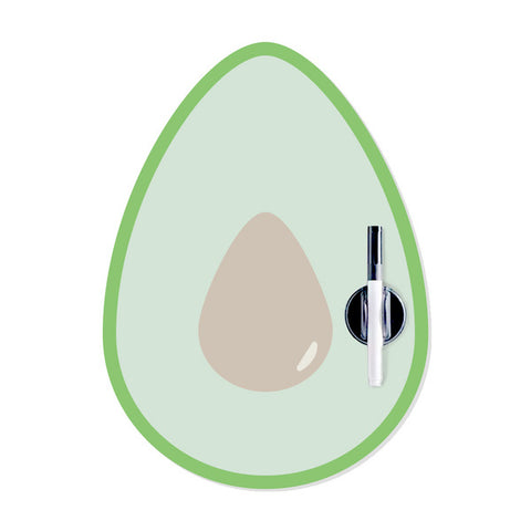 Magnetic Fridge Board Avocado