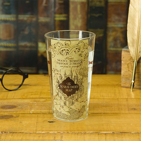Harry Potter Maurader's Map Pint Glass