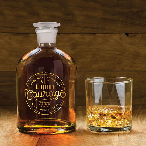 Bottled Up Decanter Courage