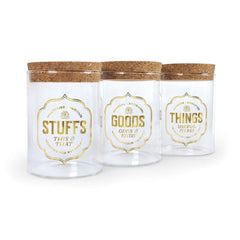 Stashed Storage Jars