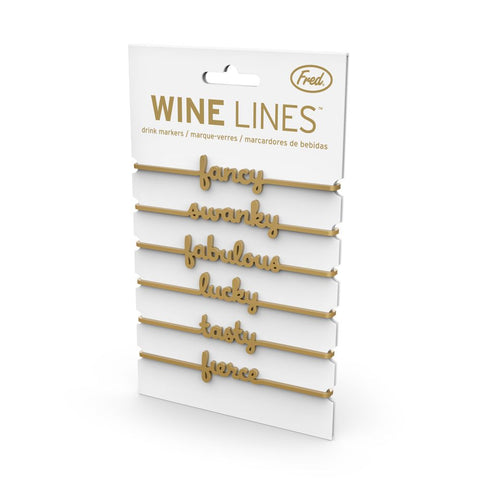 Wine Lines Sassy Markers