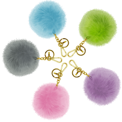 Assorted Pompom Charger