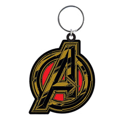 Infinity War Avengers Symbol Rubber Keychain