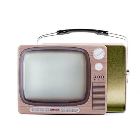 TV Tin Lunch Box
