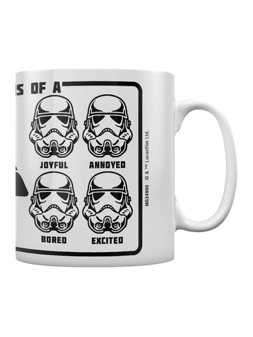 Star Wars Expressions of a Stormtrooper Mug
