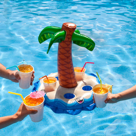 Beverage Holder Palm Tree