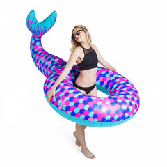 Giant Pool Float Mermaid Tail