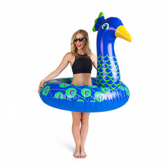 Giant Pool Float Peacock