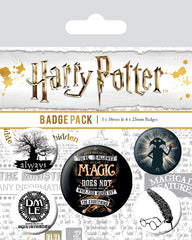 Harry Potter Symbols Badge Pack