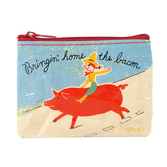 Coin Purse (Bringing Home the Bacon)