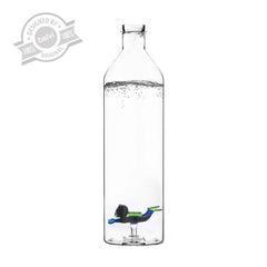 Bottle Glass Scuba Diver