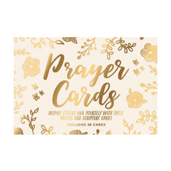 Prayer Card Sets Gold